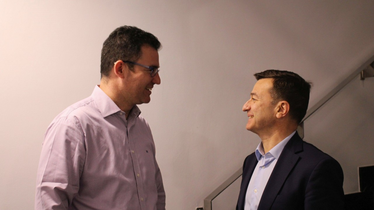 Iker Marcaide y Luis Saurat