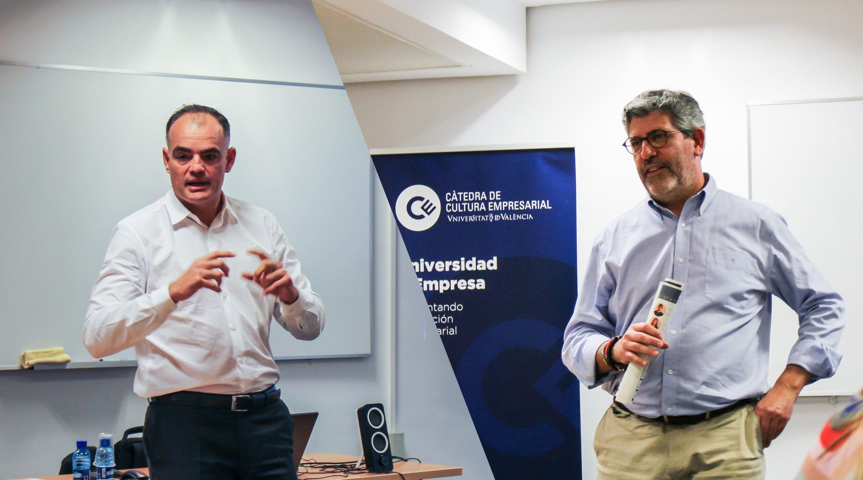 Empresarios: Santiago Vallejo y  Juan Baixauli