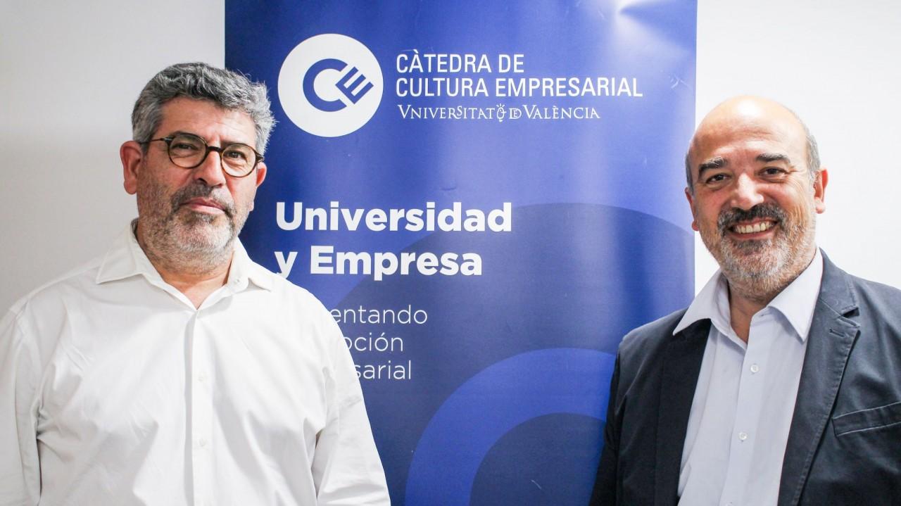 Juan Baixauli y Fernando Gómez