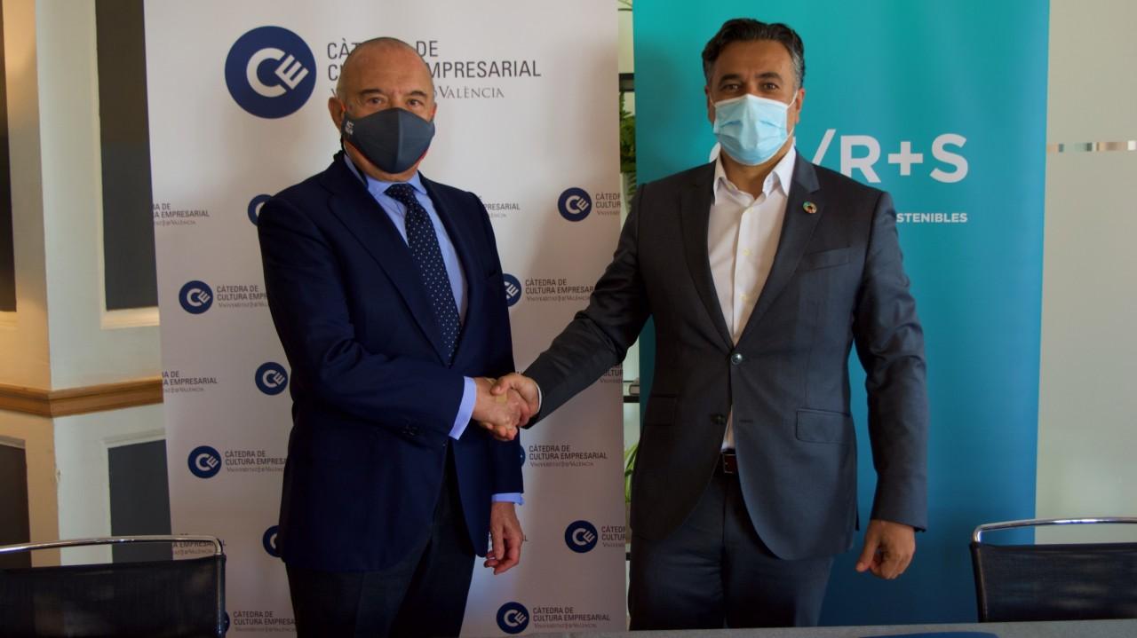 Covenio Càtedra de Cultura Empresarial con el Club de Empresas Sostenibles y Responsables de la Comunidad Valenciana
